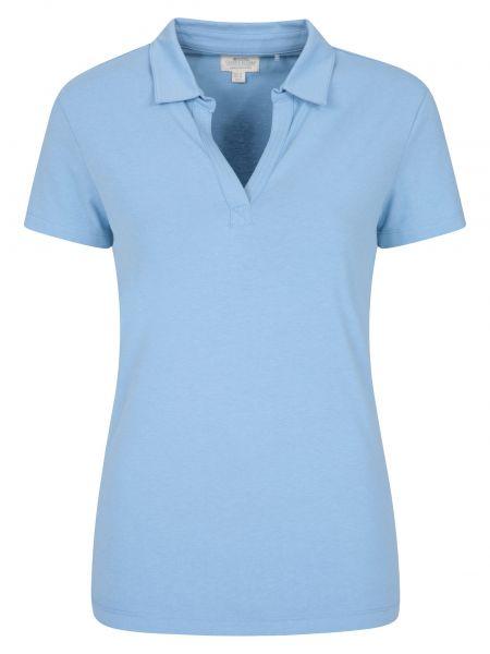 T-shirt materiałowa - niebieska Mountain Warehouse