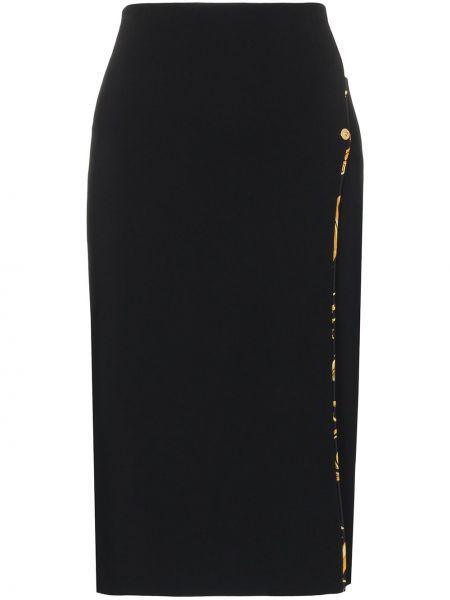 Юбка миди с вырезом Versace