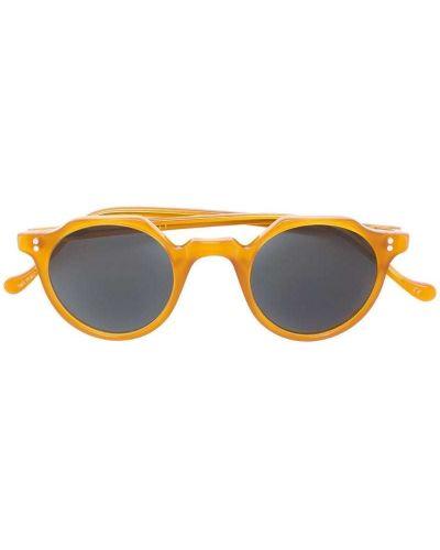 Оранжевые солнцезащитные очки Lesca