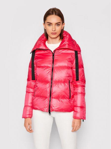 Różowa kurtka puchowa Deha