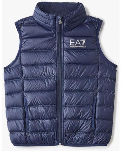 Жилетка теплая синий Ea7