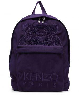Фиолетовый рюкзак с карманами Kenzo