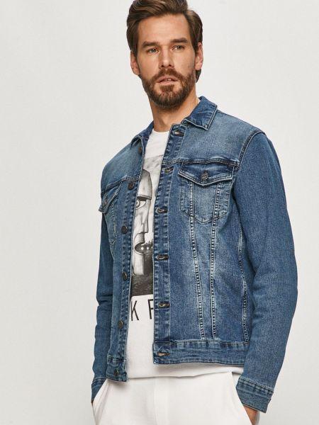 Прямая с рукавами джинсовая куртка с карманами Only & Sons