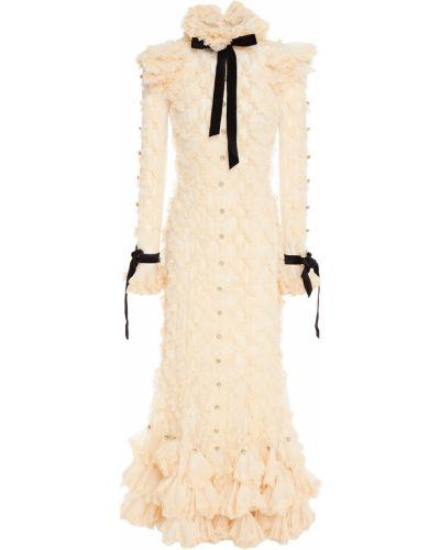 Платье миди из фатина Zimmermann