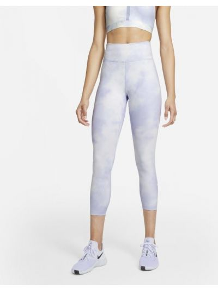 Fioletowe legginsy bezszwowe na co dzień Nike