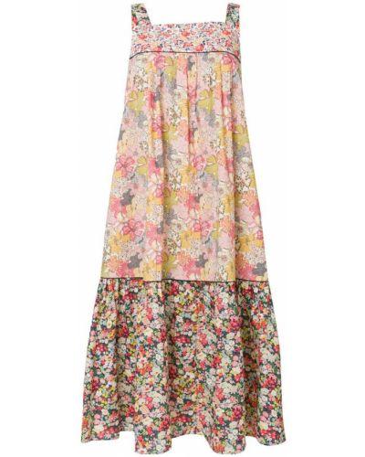 Платье с цветочным принтом с принтом хлопковое Paul & Joe