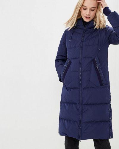 Пальто осеннее синее Snowimage