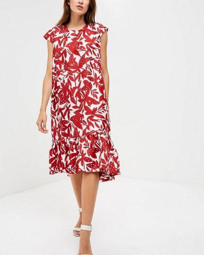 Платье красный Emi