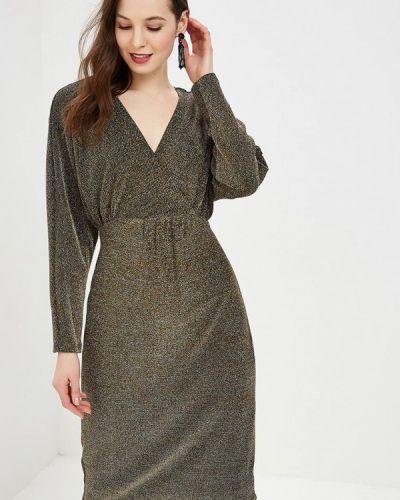 Платье золотое Wallis