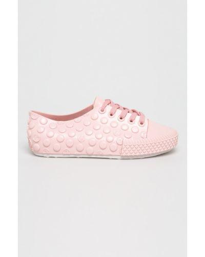 Кроссовки текстильные розовый Melissa