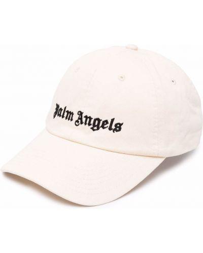 Biała czapka z daszkiem Palm Angels