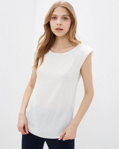 Белая блузка без рукавов Raya