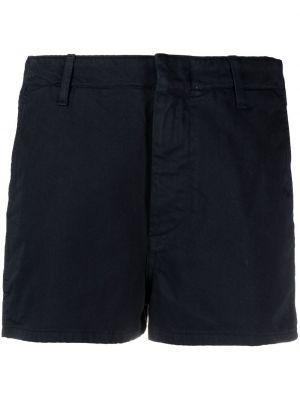 Хлопковые синие брюки узкого кроя Dondup