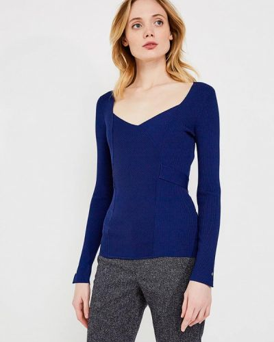 Синий пуловер Liu Jo