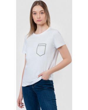 Футбольная белая футболка Arber