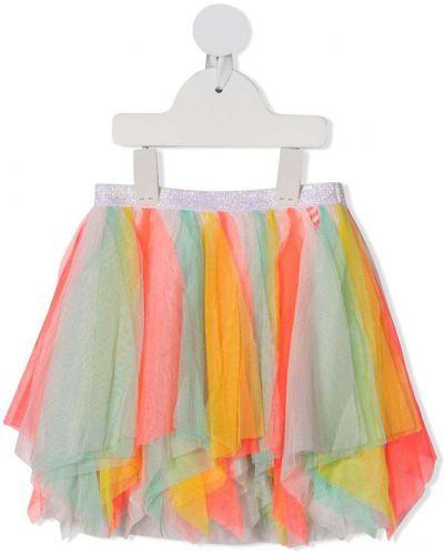 Różowa spódnica rozkloszowana tiulowa Billieblush