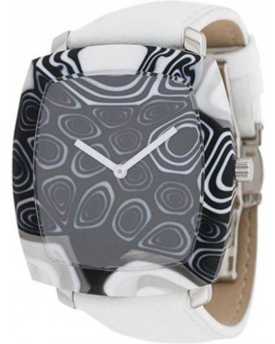 Часы белые черные Yunik
