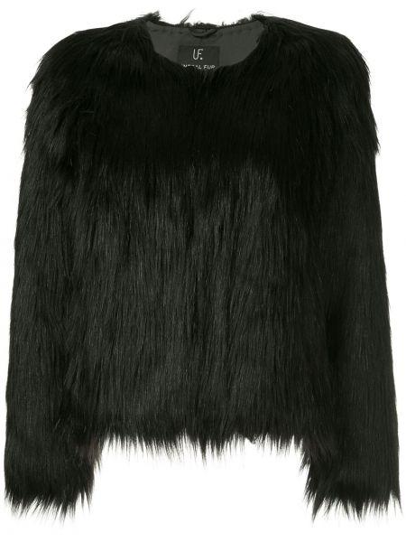 Черная короткая куртка Unreal Fur