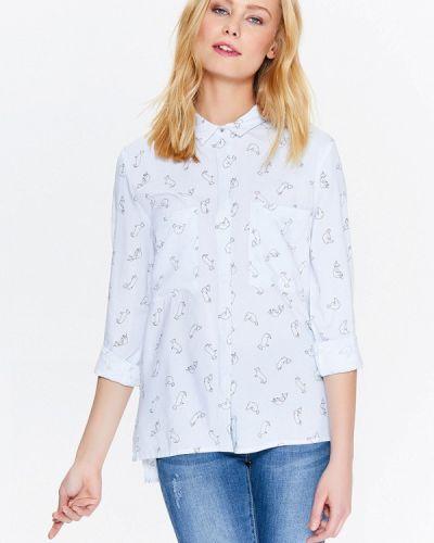 Голубая блузка Top Secret