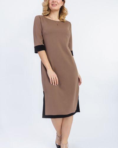 Платье бежевое с манжетами Lacywear