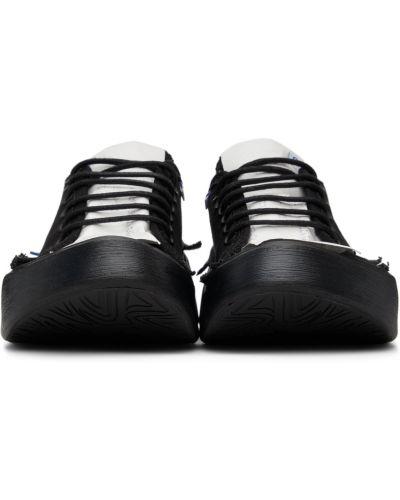 Кроссовки на платформе - белые Ader Error