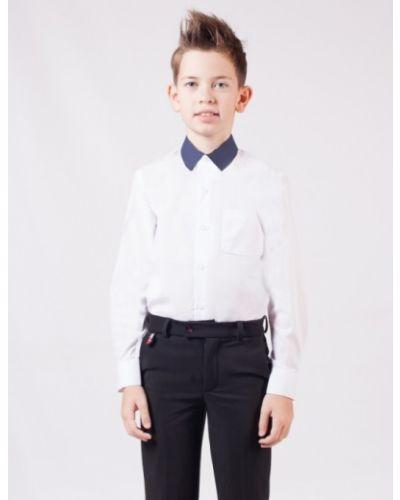 Приталенная хлопковая рубашка с воротником Nota Bene