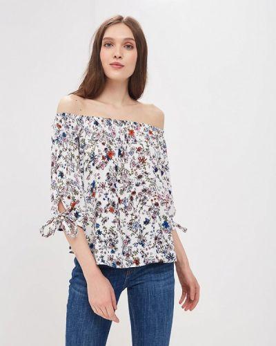 Белая блузка с открытыми плечами Jacqueline De Yong