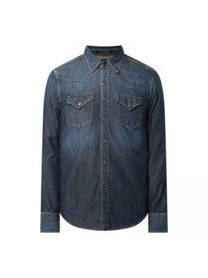 Koszula jeansowa - niebieska Replay