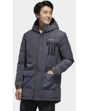 Куртка серебряный Adidas