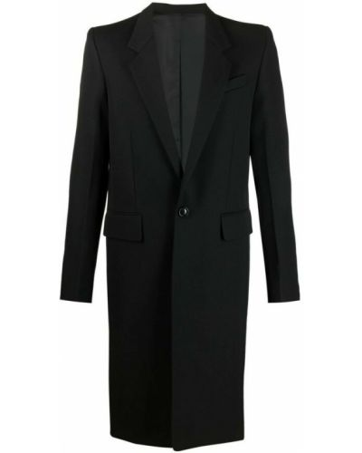 Czarny płaszcz Ami Paris
