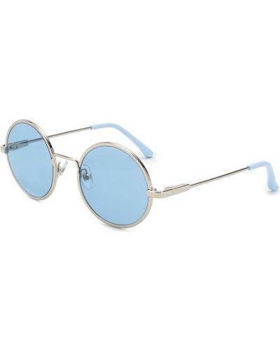 Голубые солнцезащитные очки Dries Van Noten