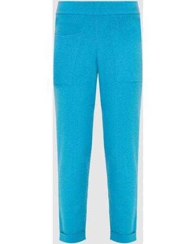 Кашемировые брюки - голубые Florence Mode