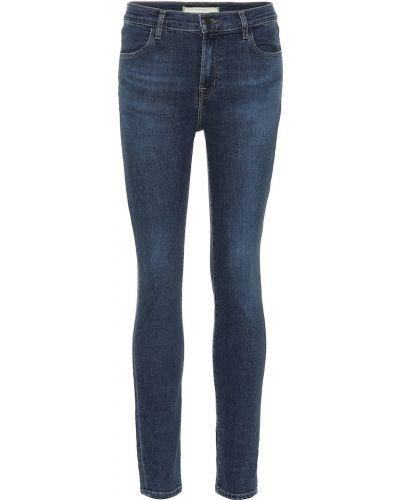 Bawełna niebieski bawełna obcisłe dżinsy rozciągać J-brand
