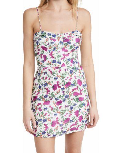 Льняное платье с декольте с подкладкой Vix Swimwear