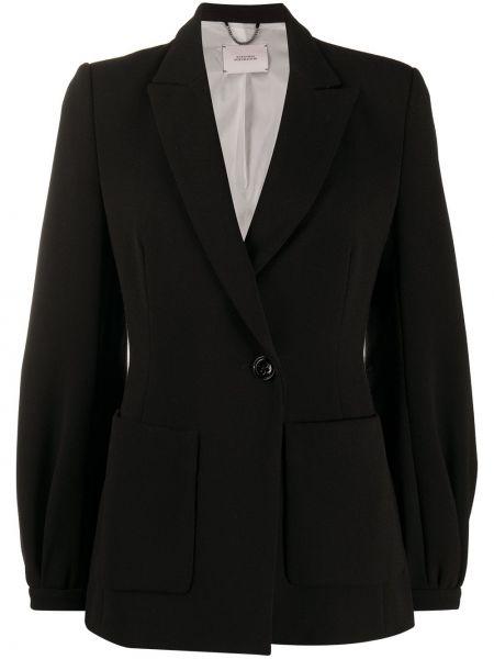 Черный пиджак на пуговицах с лацканами Dorothee Schumacher