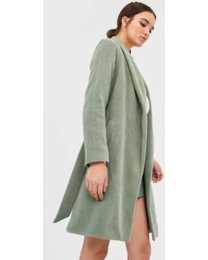 Пальто пальто с поясом Stradivarius