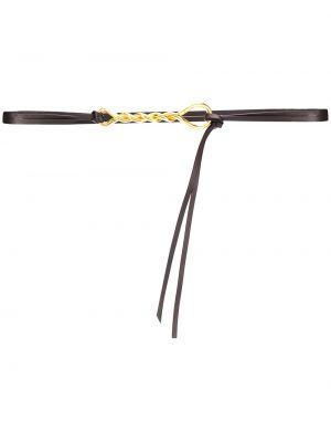 Ремень металлический с пряжкой золотой с поясом Bottega Veneta