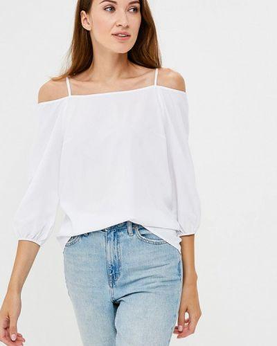 Блузка с открытыми плечами белая Vittoria Vicci