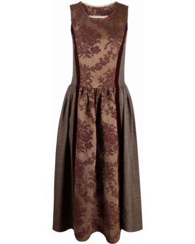 Шелковое платье макси Uma Wang