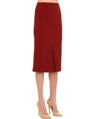 Юбка миди - красная Victoria Beckham