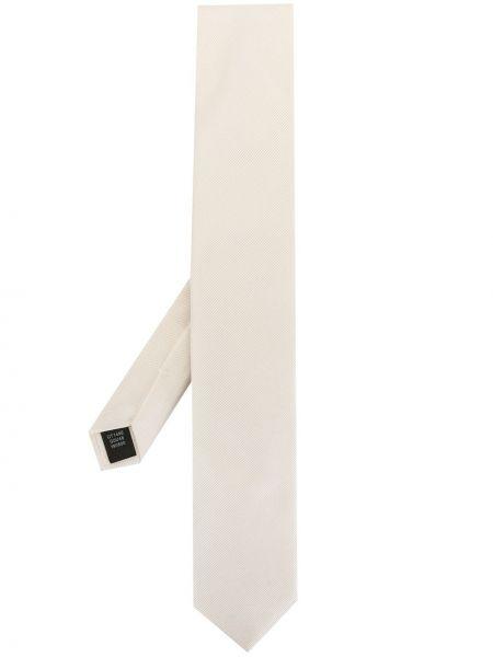 Белая шелковая резинка для волос в полоску Dolce & Gabbana