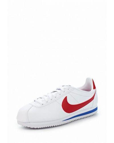 Белые кроссовки из искусственной кожи Nike