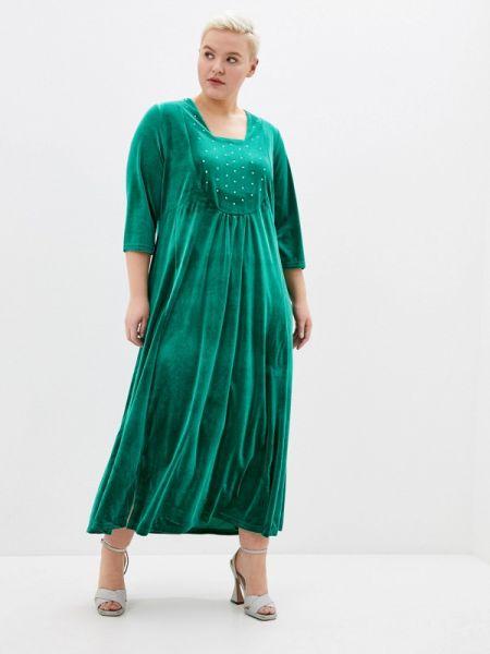 Вечернее платье зеленый весеннее Артесса