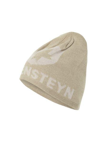 Biały miękki czapka Wellensteyn