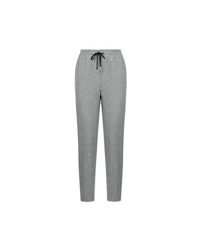 Прямые серые брюки Max & Moi