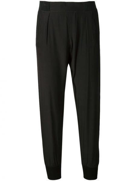 Czarne spodnie bawełniane Atm Anthony Thomas Melillo