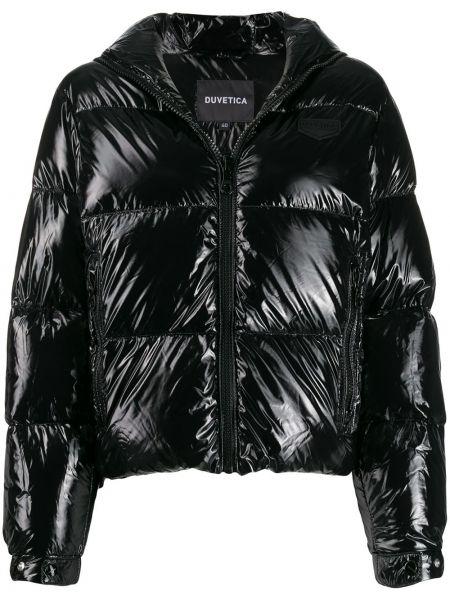 Дутая куртка - черная Duvetica