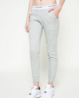 Брюки на резинке с карманами свободные Calvin Klein Jeans