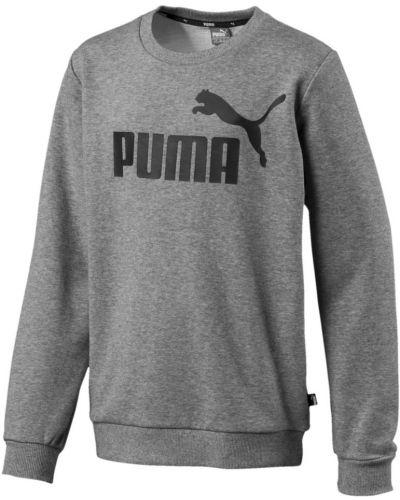 Толстовка серая классический Puma