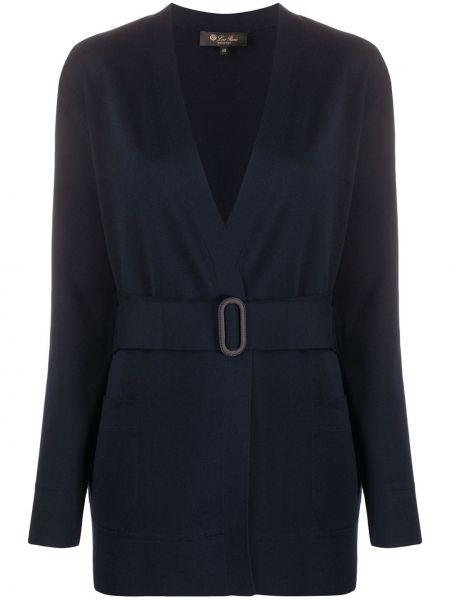 Куртка с карманами синий Loro Piana